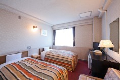 洋室内観 Kyoto Travelers' Inn