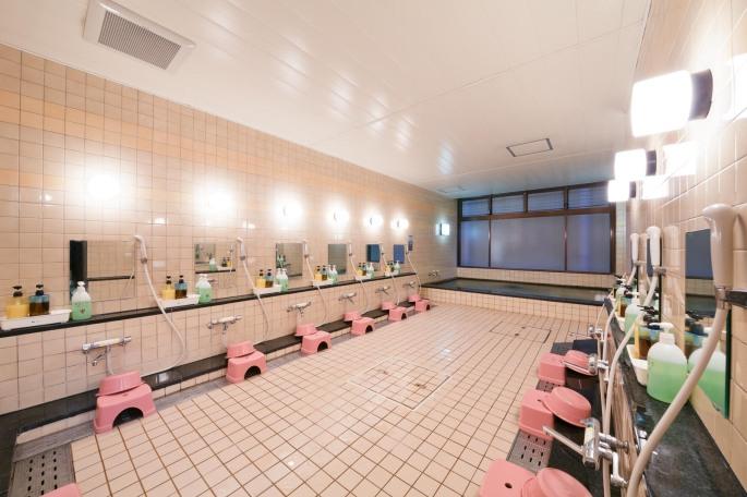 大浴場 Kyoto Travelers' Inn